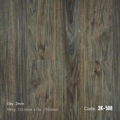 Sàn Nhựa Giả Gỗ Dán Keo 3K500