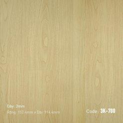 Sàn Nhựa Giả Gỗ Dán Keo 3K700