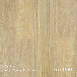 Sàn Nhựa Giả Gỗ Dán Keo 3K800