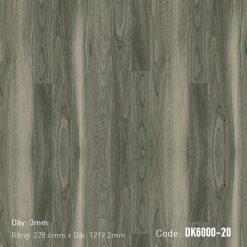 Sàn Nhựa Giả Gỗ Dán Keo DK6000-20