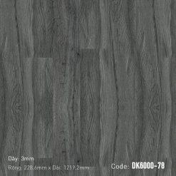 Sàn Nhựa Giả Gỗ Dán Keo DK6000-78