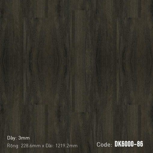Sàn Nhựa Giả Gỗ Dán Keo DK6000-86