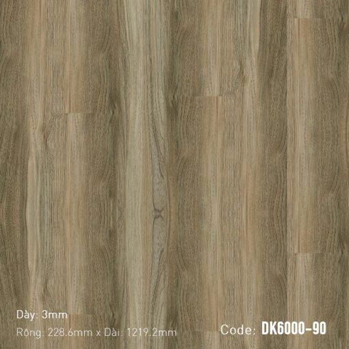 Sàn Nhựa Giả Gỗ Dán Keo DK6000-90
