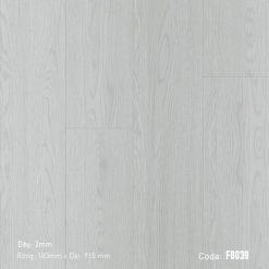 Sàn Nhựa Giả Gỗ Dán Keo FJORD F8039