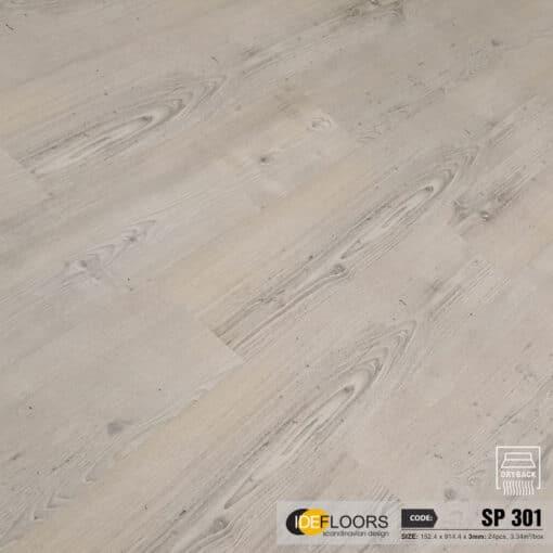 Sàn Nhựa Giả Gỗ Dán Keo IDE HP301