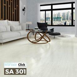 Sàn Nhựa Giả Gỗ Dán Keo MSfloor SA 301