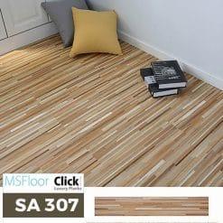 Sàn Nhựa Giả Gỗ Dán Keo MSfloor SA 307