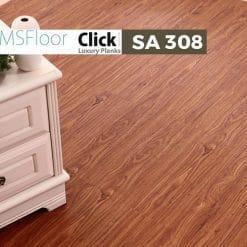 Sàn Nhựa Giả Gỗ Dán Keo MSfloor SA 308-1