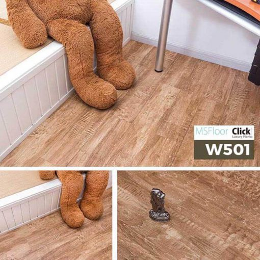 Sàn Nhựa Giả Gỗ Dán Keo MSfloor W501.1