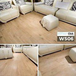 Sàn Nhựa Giả Gỗ Dán Keo MSfloor W506