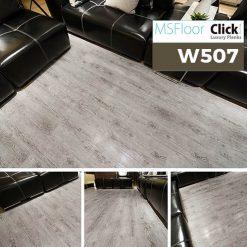 Sàn Nhựa Giả Gỗ Dán Keo MSfloor W507