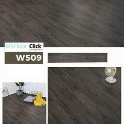 Sàn Nhựa Giả Gỗ Dán Keo MSfloor W509