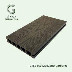 Sàn Gỗ Nhựa Ngoài Trời GTL5_140X25X2200_DarkGrey (2)