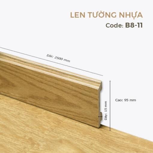 Len Tường Nhựa B8-11