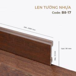 Len Tường Nhựa B8-17