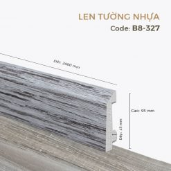 Len Tường Nhựa B8-327