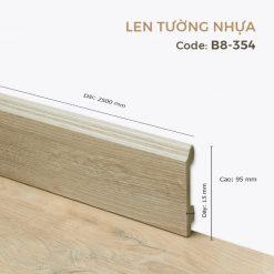 Len Tường Nhựa B8-354