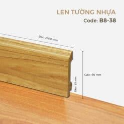 Len Tường Nhựa B8-38