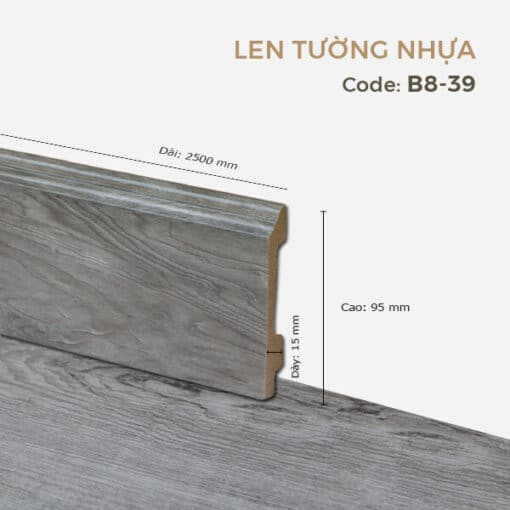 Len Tường Nhựa B8-39