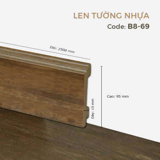 Len Tường Nhựa B8-69