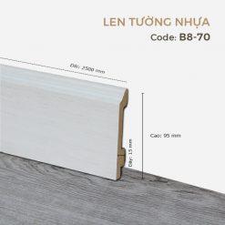 Len Tường Nhựa B8-70