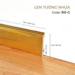 Len Tường Nhựa B8-G