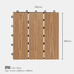 Vỉ Gỗ Nhựa Awood DT03-Wood