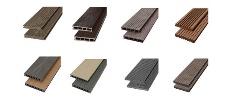 Đặc điểm và kích thước của sàn gỗ nhựa ngoài trời