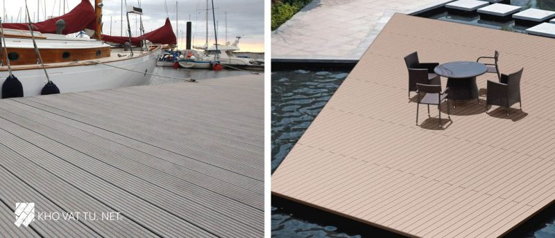 Ưu điểm của sàn gỗ nhựa ngoài trời