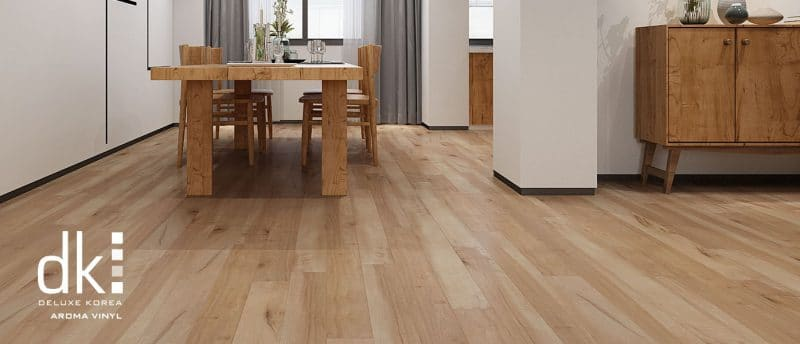 sàn nhựa giả gỗ DK Flooring