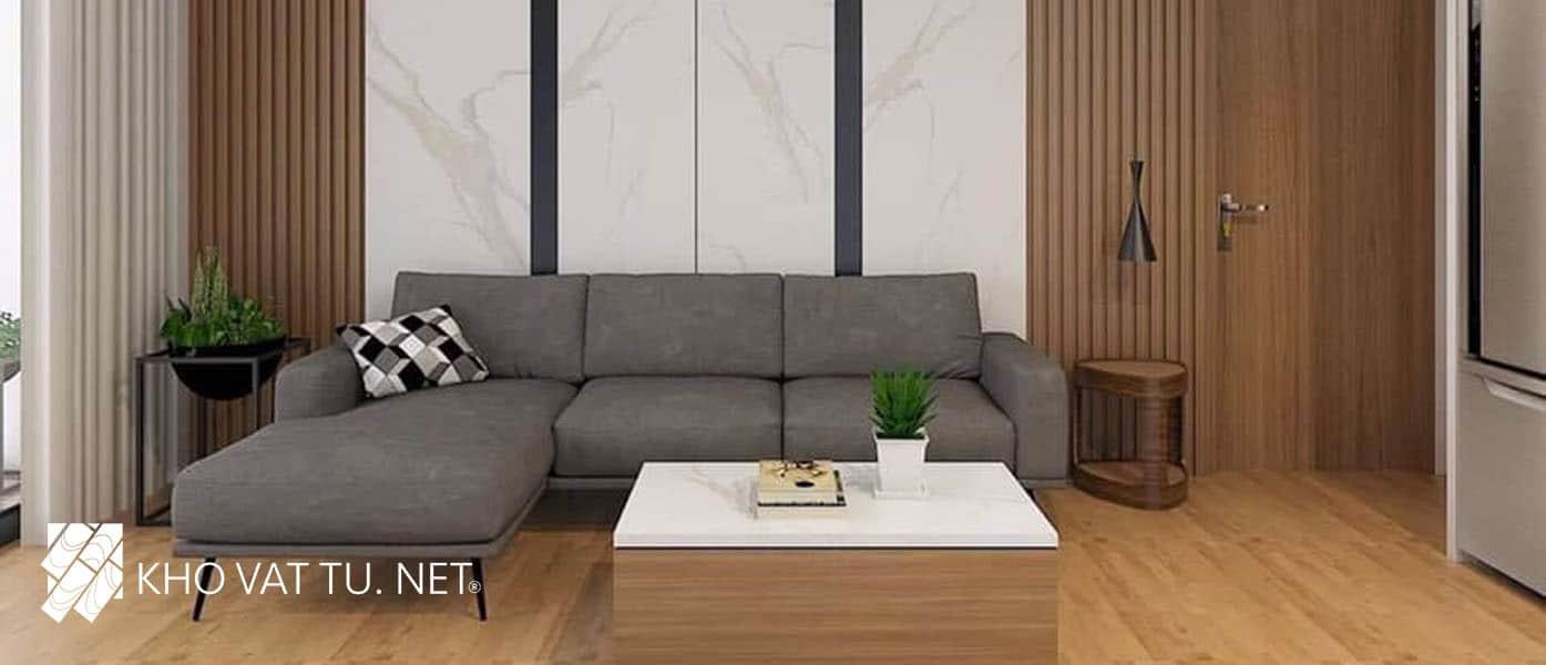 Tấm ốp tường giả gỗ là vật liệu thân thiện môi trường