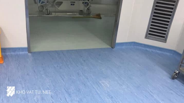 Dự án thi công sàn vinyl kháng khuẩn thẩm mỹ viện Xuân Hương